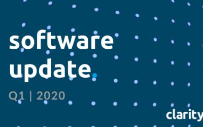 Clarity HQ Software Update