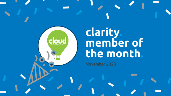 Clarity Member of the Month for November