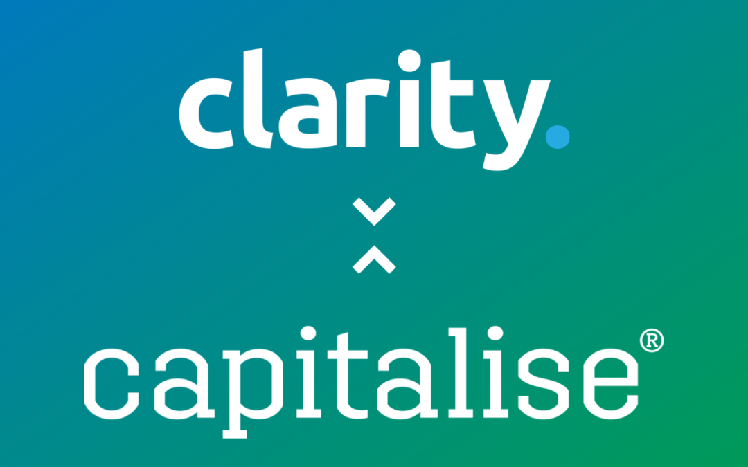 Clarity Partner with Capitalise.com – Streamlining Business Advisory and Funding for Accountants