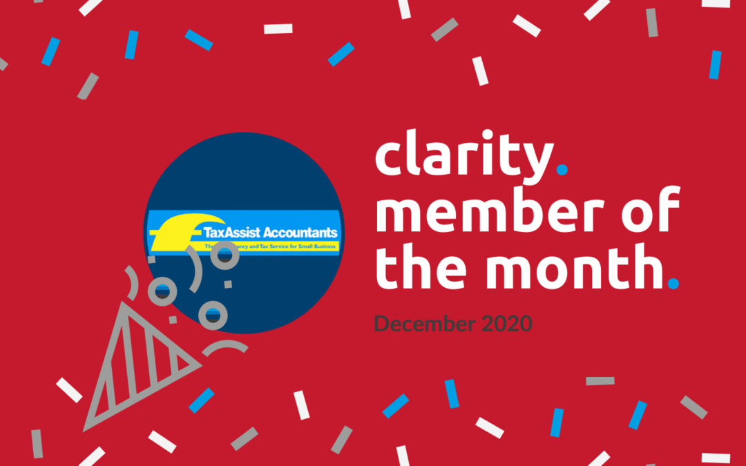 Clarity December Member of the Month – TaxAssist