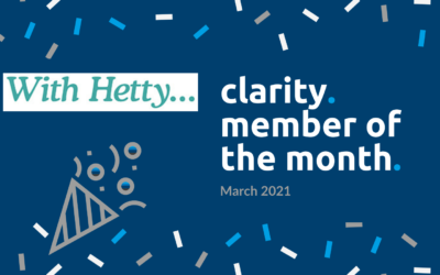 March Member of the Month – Clarity and Profit First