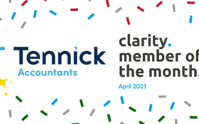Tennick Accountants: April's Member of the Month