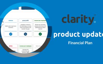 Simplified Action Plan: Clarity Platform Update