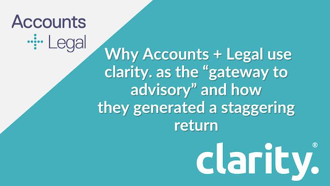 Accounts + Legal case study