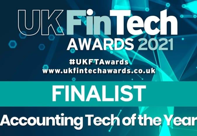 UK FInTech Awards finalist 2021